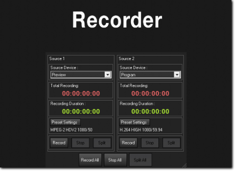 live video reording software